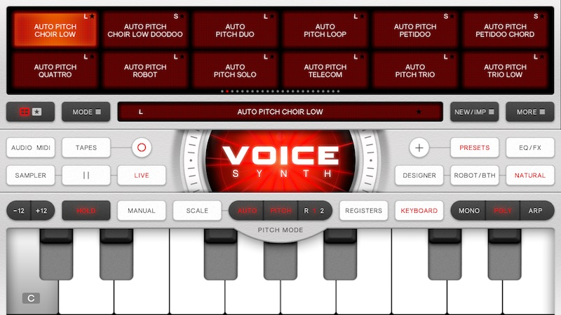 Voice Synth Manual